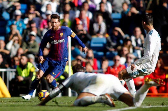 Goles Real Madrid vs Barcelona