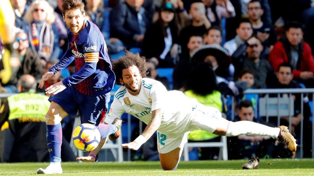 Messi gol Barcelona vs Real Madrid