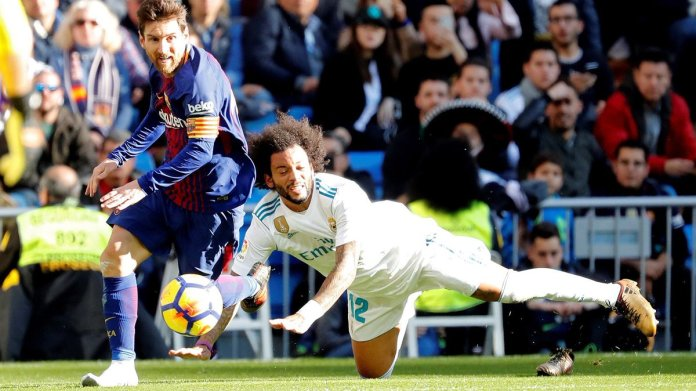 Messi gol Barcelona vs Real Madrid