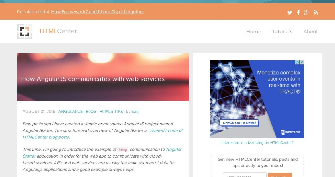 How AngularJS Communicates with Web Services?  #angularjs #javascript #webdev