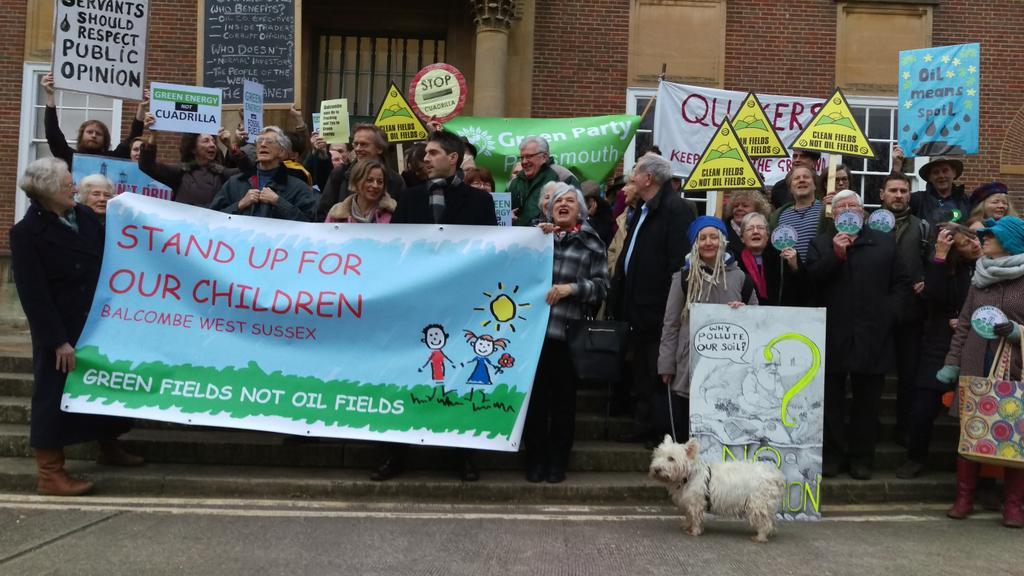 DTF8lTZWAAAkzZJ - Fracking firm gets green light to test for oil at Balcombe … again | Business