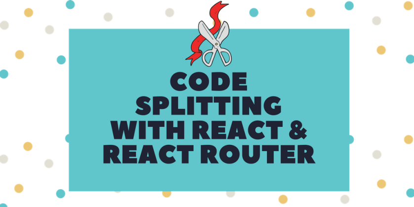 Code Splitting with React and React Router  #reactjs #React #reactrouter