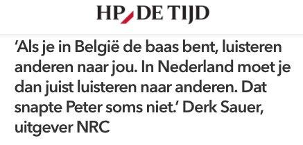 test Twitter Media - Profiel Peter Vandermeersch: redder van NRC, met een kort lontje  📰 @HPdeTijdNL  👉 https://t.co/XFIcqevLFT https://t.co/0xz9nYNl7P