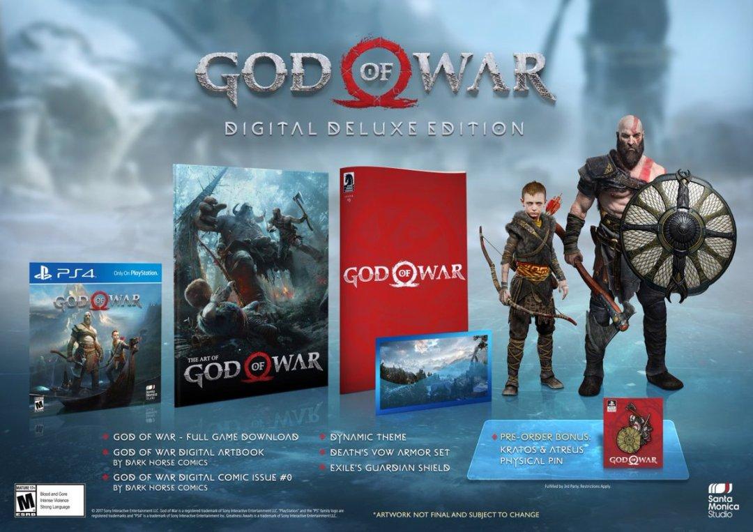God of War Special Editions & Pre-Order Bonus Revealed 5