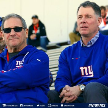 Image result for pat shurmur and dave gettleman picture