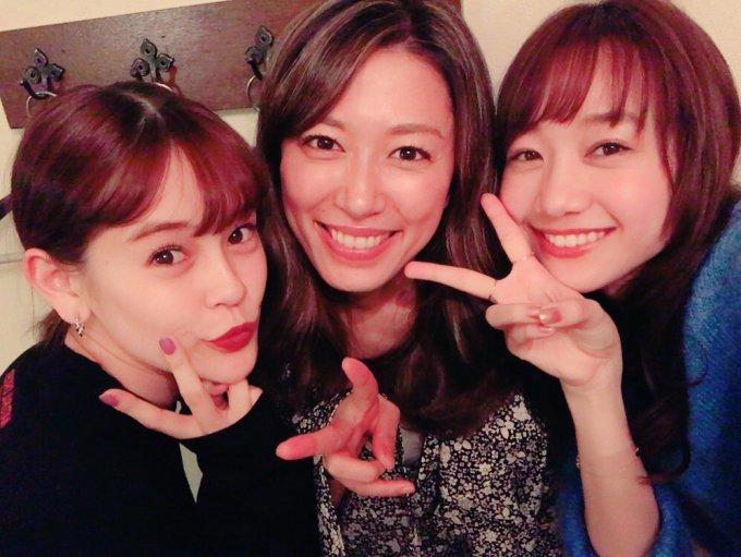 「emma 里田まいさんとモデルの高田秋」の画像検索結果