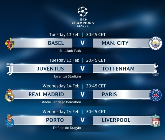 Uefa Champions League On Twitter This Weeks Ucl Fixtures  F0 9f 98 8d Excited
