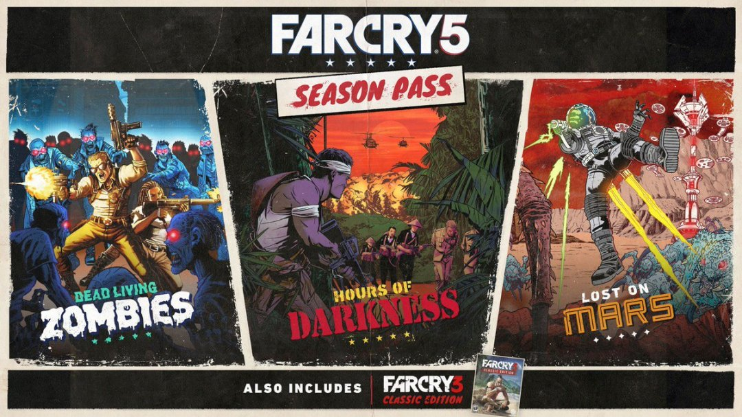 Far Cry 5 Season Pass Announced