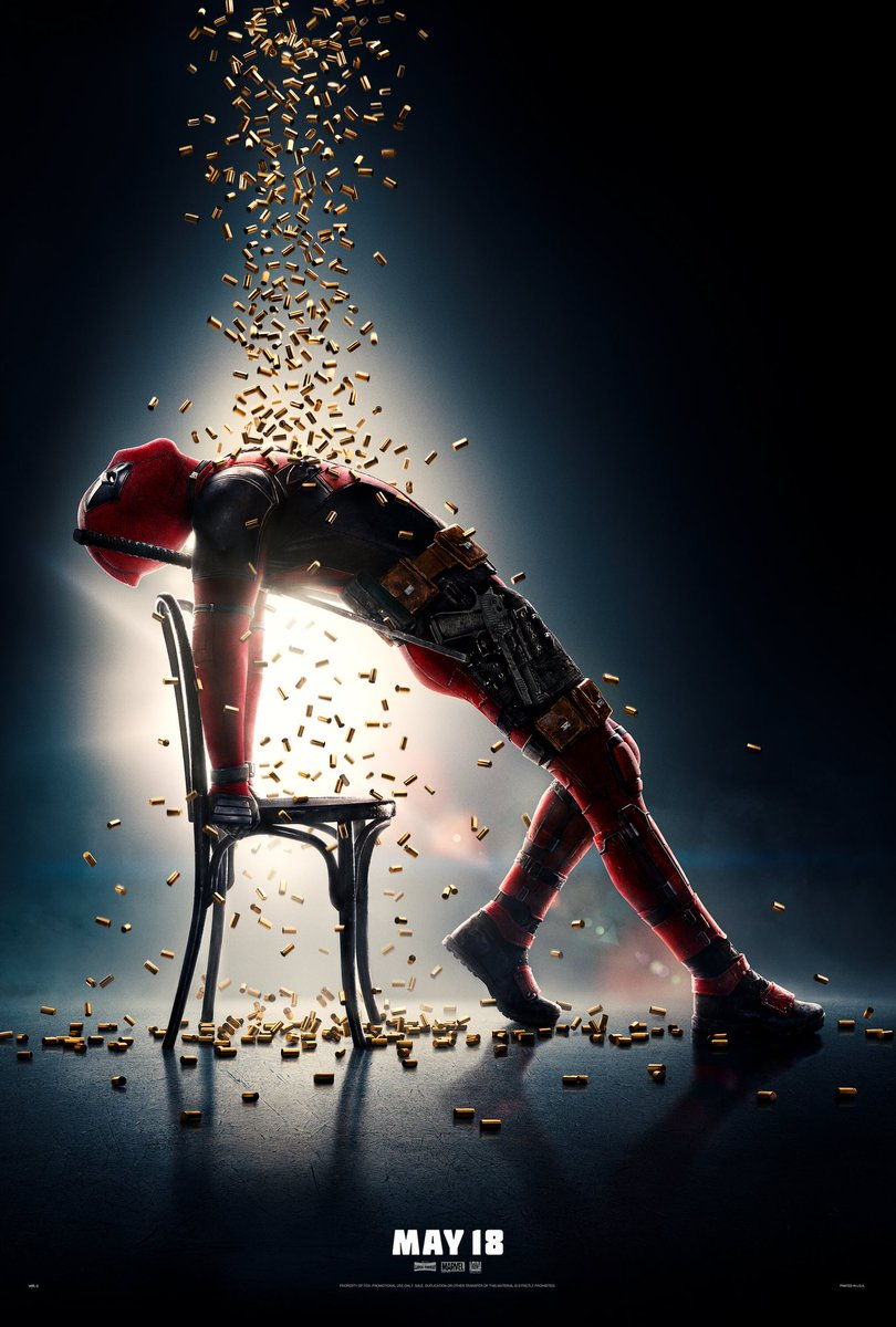 Merc With A Mouth Goes Full Flashdance In New Deadpool 2 Poster