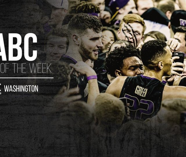 Washington Mens Basketball On Twitter Dawgs Honored As Nabc Team Of The Week We Are Toughertogether Https T Co Ylwmlxrxrb