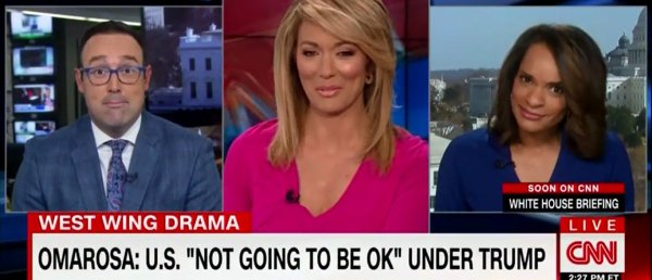 Cnn reporters agree omarosa is full of it and only wants ...