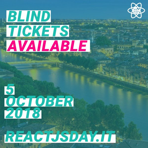 Few Blind Tickets are available till March, don't miss them!  #getyourticket