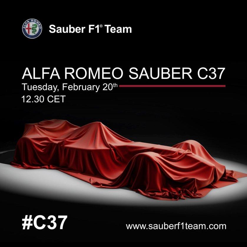 Presentazione Alfa Romeo Sauber