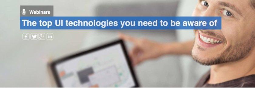 The top #UI technologies you need to be aware of  #angular4 #CSS #reactjs