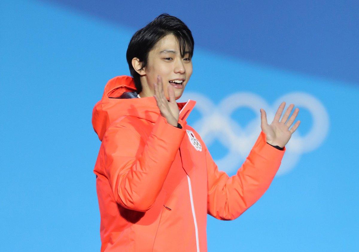 Hanyu Podium Beloved Japanese Figure Skater Yuzuru Hanyu