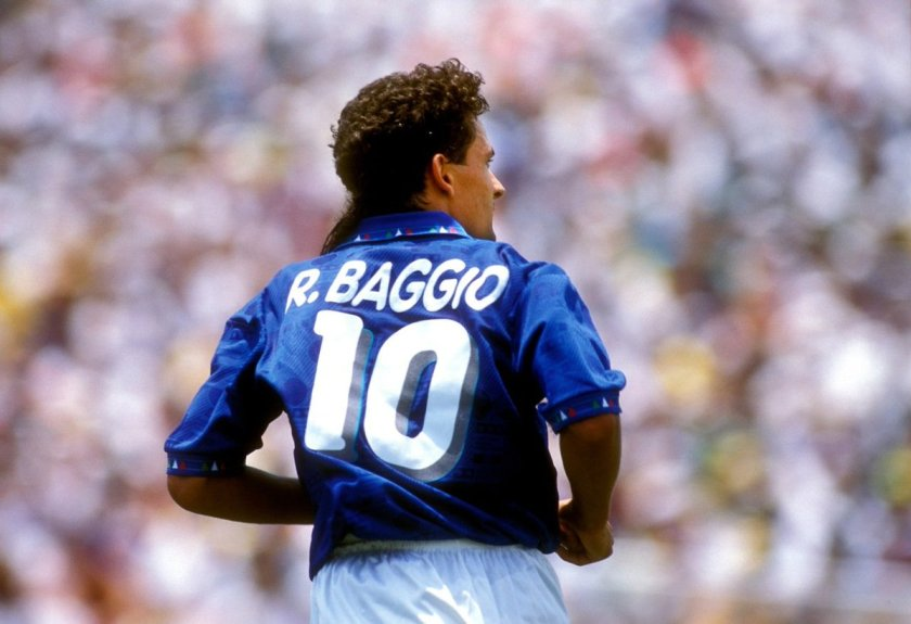 Image result for roberto baggio italia