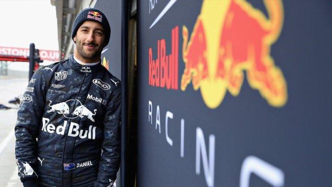 Filming Day Red Bull RB14 Daniel Ricciardo