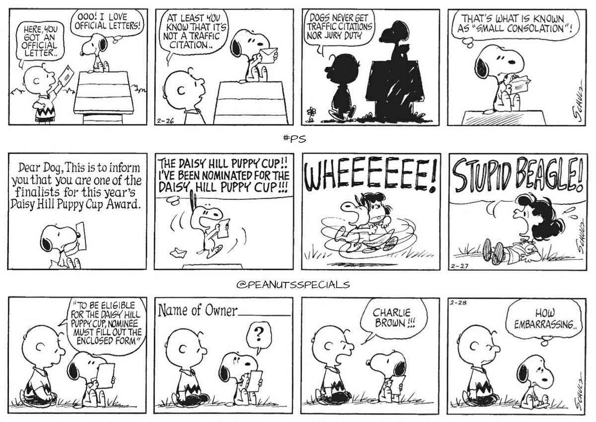 official peanuts specials on twitter