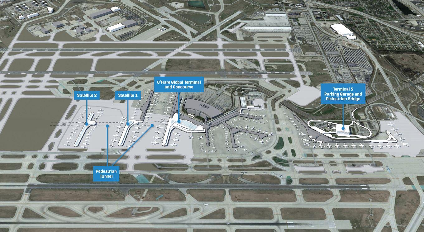Hartsfield Terminal Airport Atlanta Map