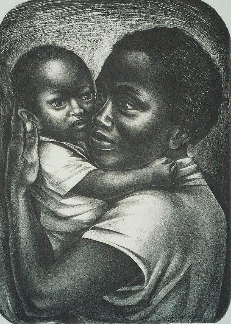 Elizabeth Catlett, Black Maternity, 1959 #womensart #MothersDay