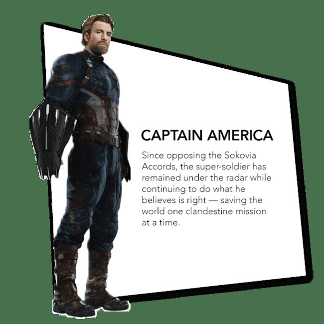 Avengers: Infinity War Character Promo Banners