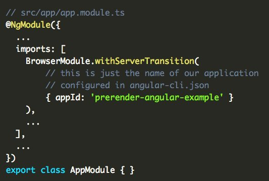 Pre-rendering #angular Applications #JavaScript