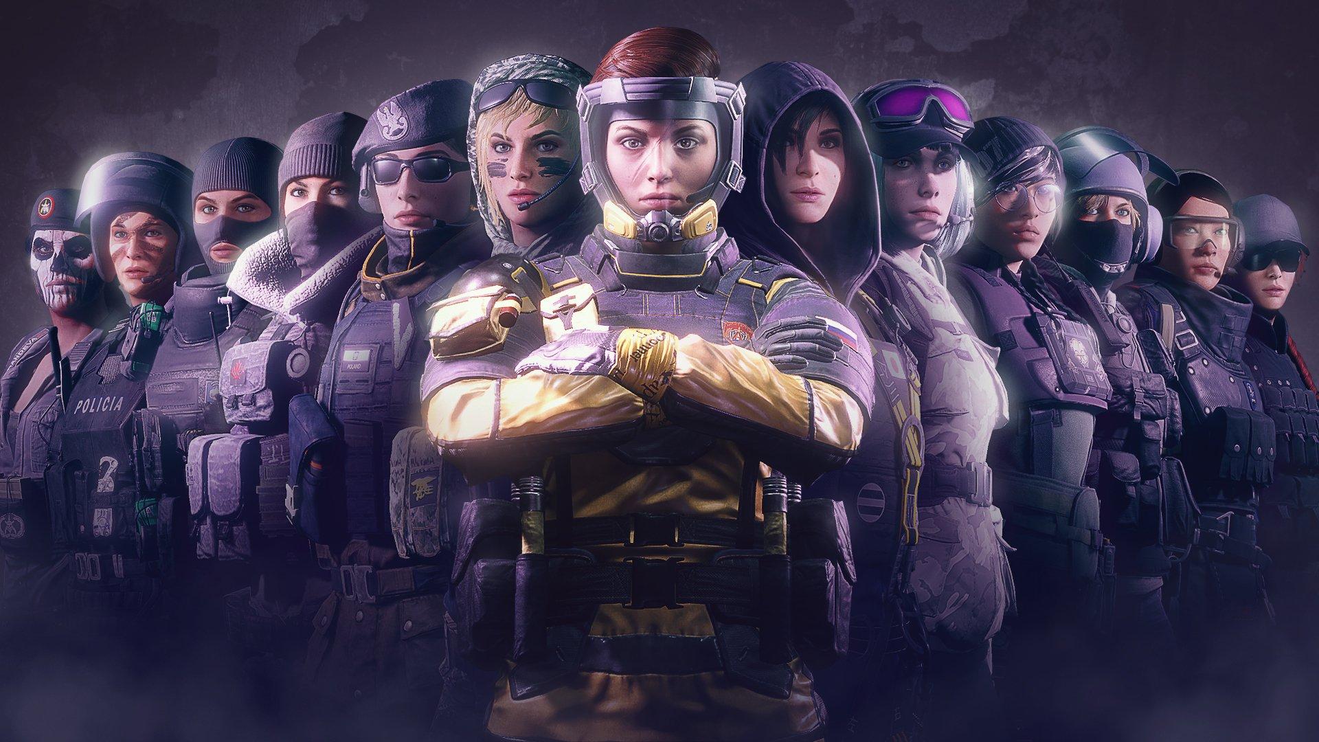 Rainbow Ranks Siege Six Order