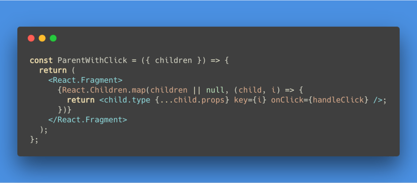 Mapping over one or more children in #Reactjs