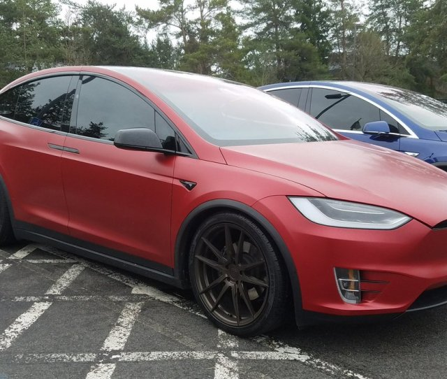 Raphael On Twitter This Custom Model X Chromedelete Aftermarkets Wrappedup Gorgeous