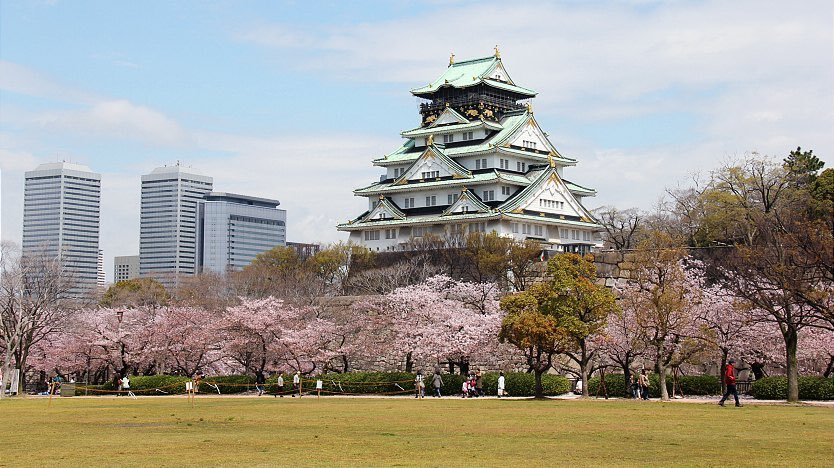 Image result for osaka castle