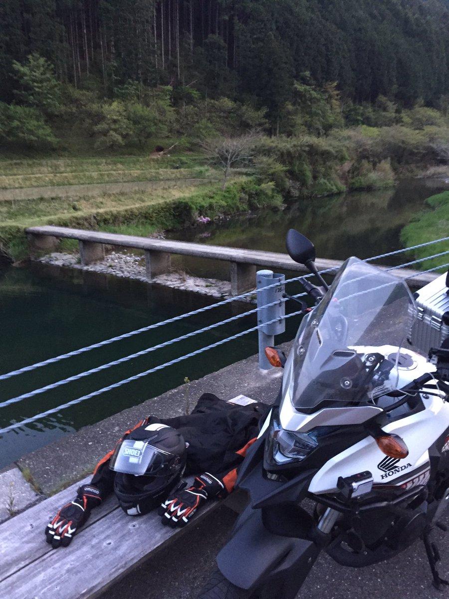 test ツイッターメディア - 大股沈下橋!高知から出る前に1つ以上の沈下橋を見たくて日が沈む前に駆け込みました!やっぱいいわ沈下橋、見てて癒される…( ˘ω˘ ) #バイク #日本一周 #高知 https://t.co/n1PnPdk3Si