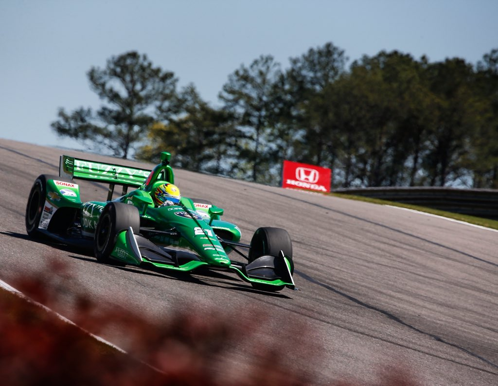 test Twitter Media - Good day here @BarberMotorPark   Ended up 2nd in practice, the @FuzzysVodka car is good so far! Looking forward to qualifying tomorrow. #indycar https://t.co/CudJXbtZyo
