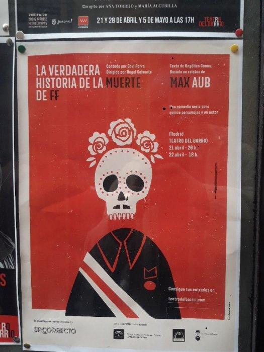 "test Twitter Media - En el Teatro del barrio de Madrid, en la calle Zurita 20 la obra ""La verdadera historia de la muerte de Francisco Franco"", basada en textos de Max Aub. https://t.co/N1IpmmWRsg"