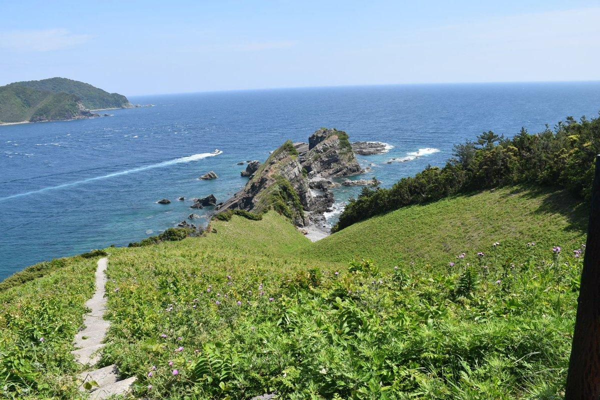test ツイッターメディア - 下甑島は礼文、隠岐に匹敵する絶景の宝庫でした(*´-`) 鳥の巣山展望台。 例の橋を下甑から見る。 今のところ沈下橋みたいな様子。 てか二車線じゃないのね… この海峡の潮流が速いのは見てて伝わってきます。 この青い海と、草原に花が咲いてる感じ、礼文を思い出しました。 https://t.co/PQZEYSrJ7e