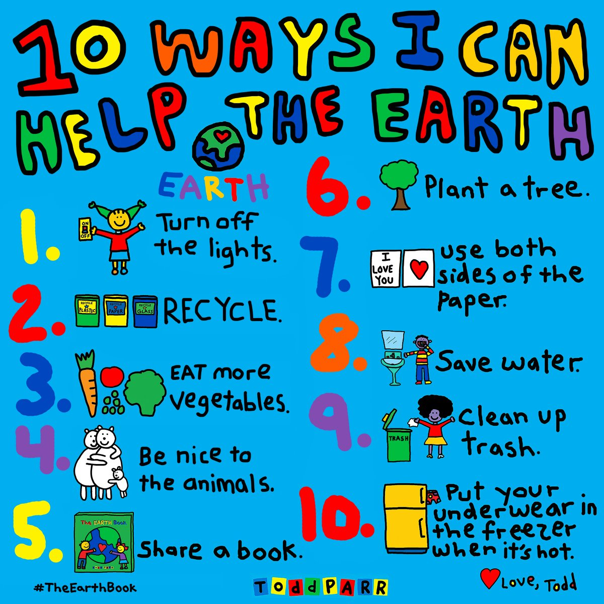 Todd Parr On Twitter Happy Earthday Here Are Some