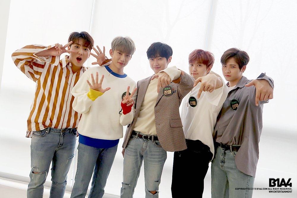 Image result for b1a4 debut site:twitter.com