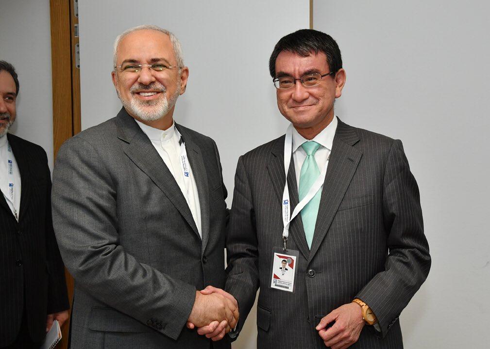 test ツイッターメディア - イランのザリーフ外相との会談。イラン核合意や北朝鮮が主なテーマでした。 https://t.co/X54XCMwuRC