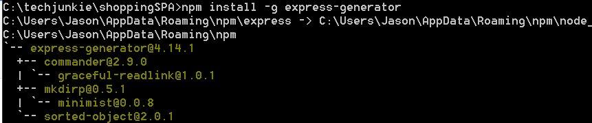 #AngularJS SPA Part 7 : Installing Express generator  #expressjs #Mongodb #NodeJS #webdev