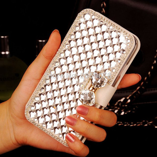 #BestSeller #phonentablet Luxury Sparkling Leather Women's Flip Case for HTC...