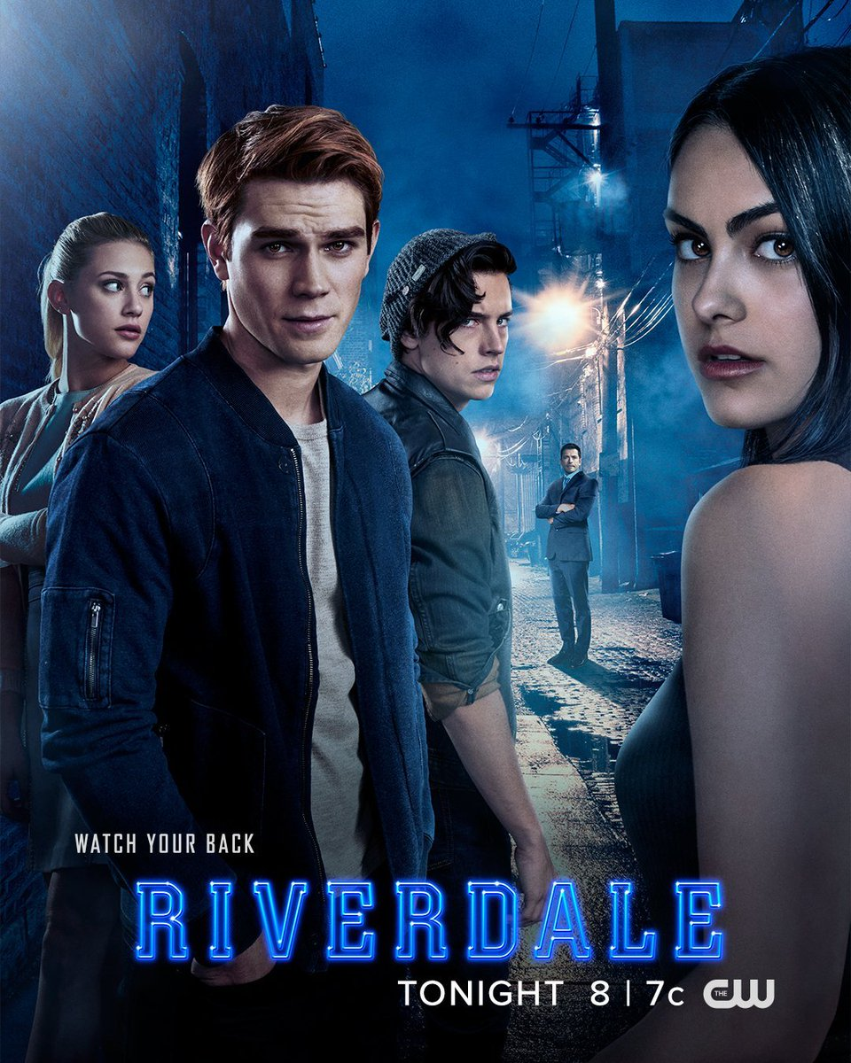 new promotional poster riverdale cole