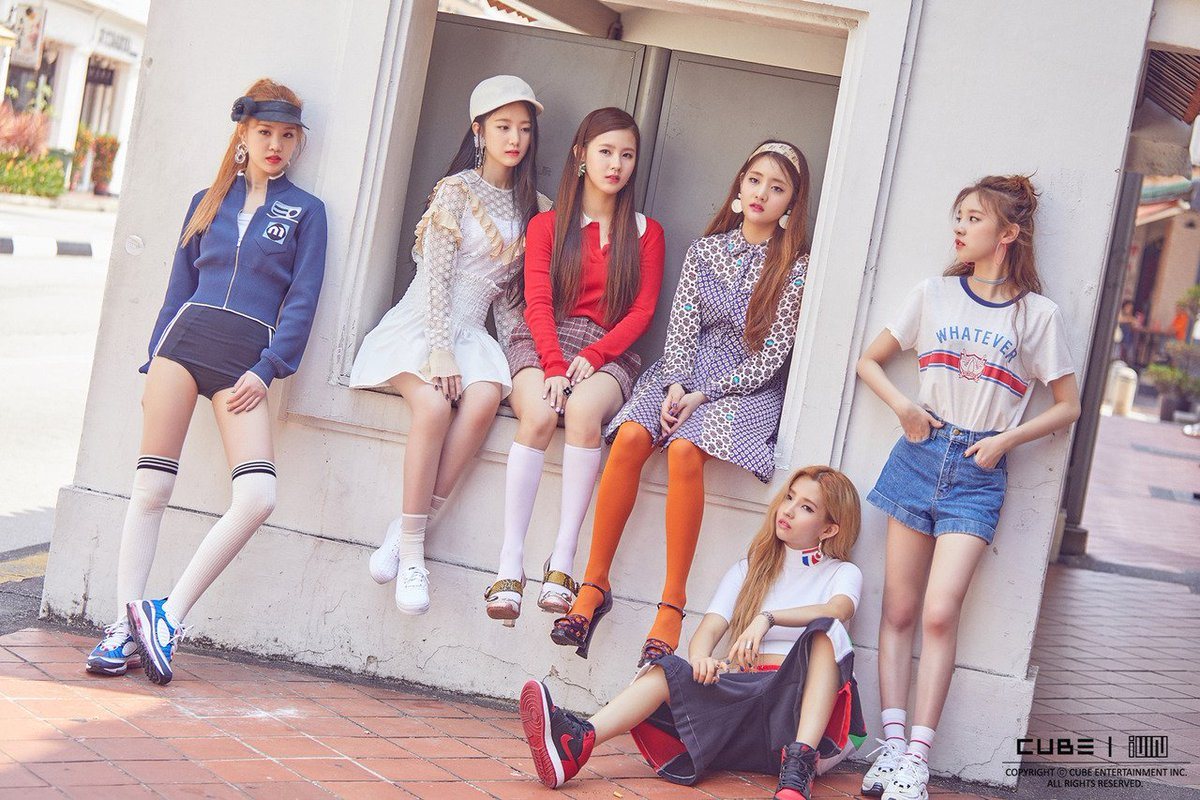 Image result for g idle latata site:twitter.com