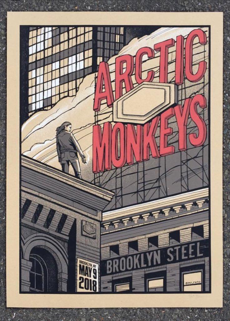 arctic monkeys us در توییتر poster for