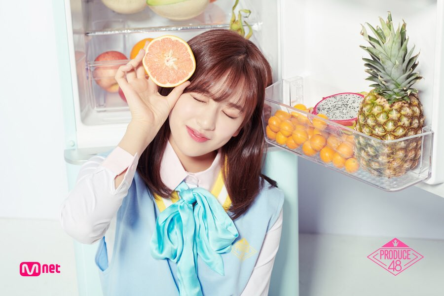 Image result for ahn yujin produce 48 site:twitter.com