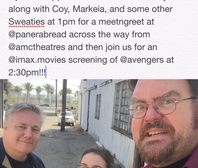 Jon Schnepp On Twitter Its Happening Today Sweaties See You There