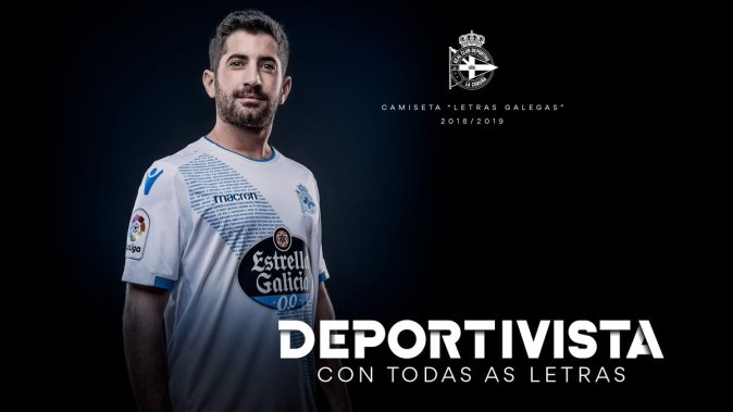 Tercera Camiseta Dépor 2018