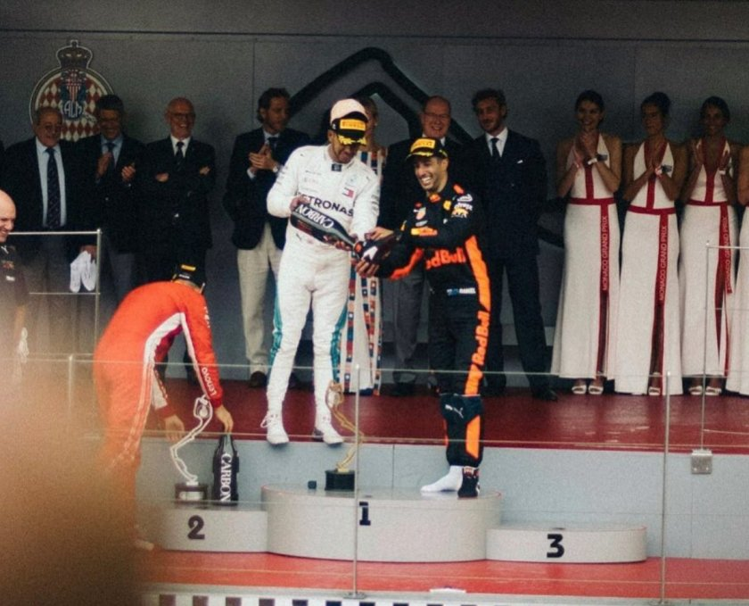 GP Monaco Hamilton