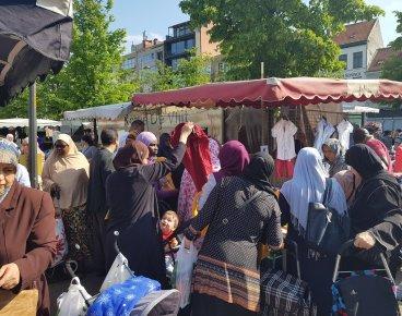 Afbeeldingsresultaat voor antwerpen islamisering markt