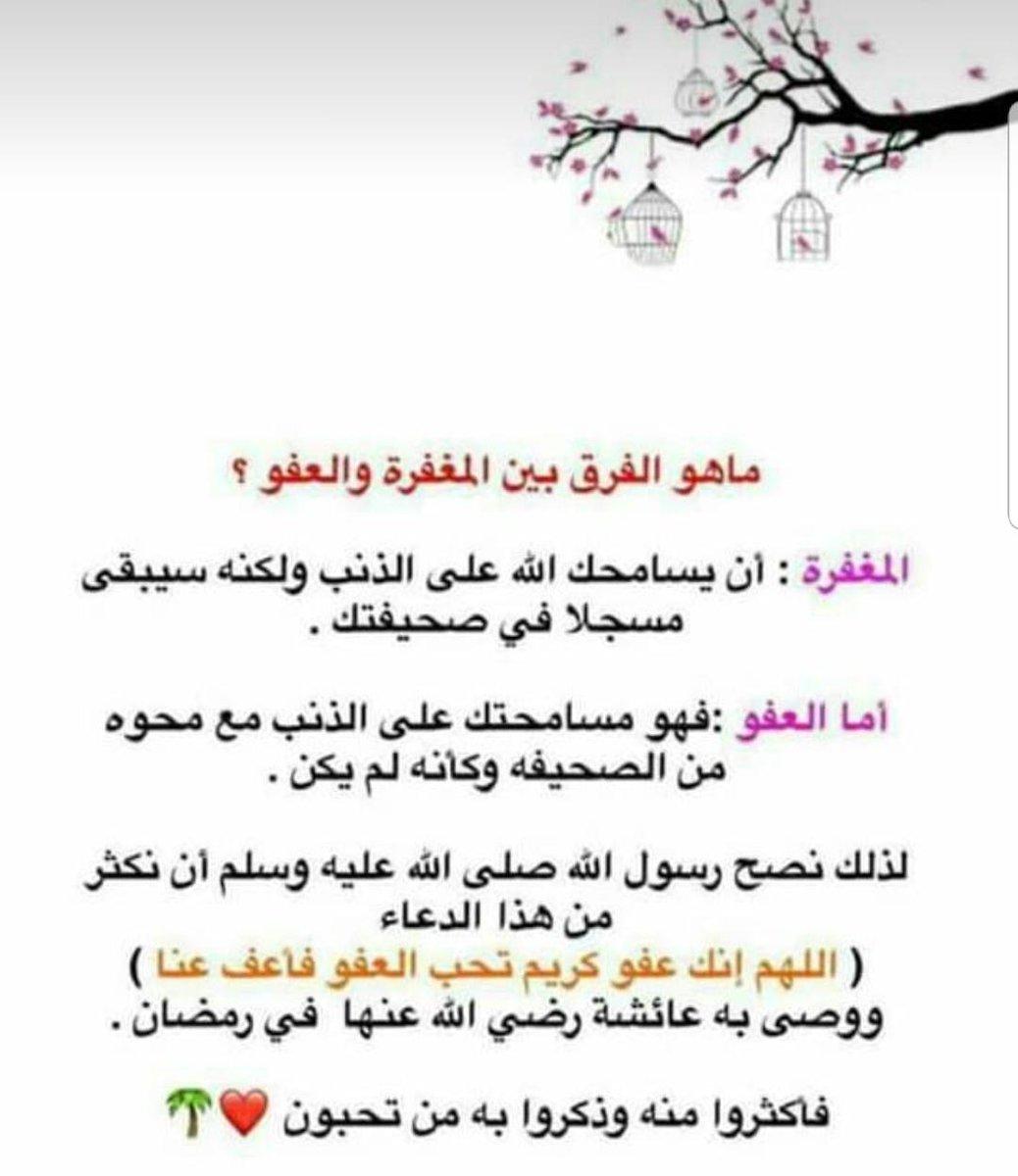 اللهم انك عفو كريم تحب العفو فاعف عنا Tweet Added By الأمل