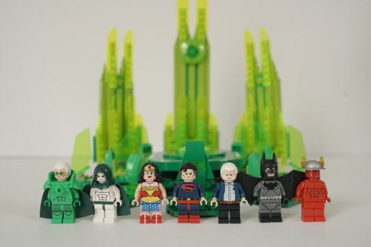 Alex Ross Lego Kingdom Come SDCC