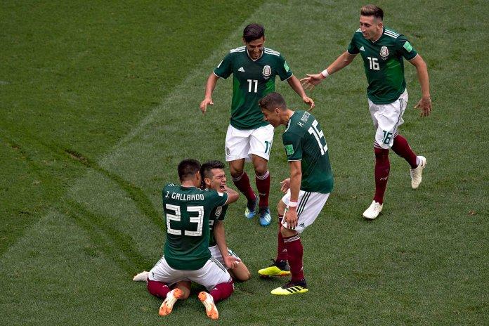 Repetición del México vs Alemaina